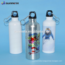 sublimation blank Aluminum sports bottle
